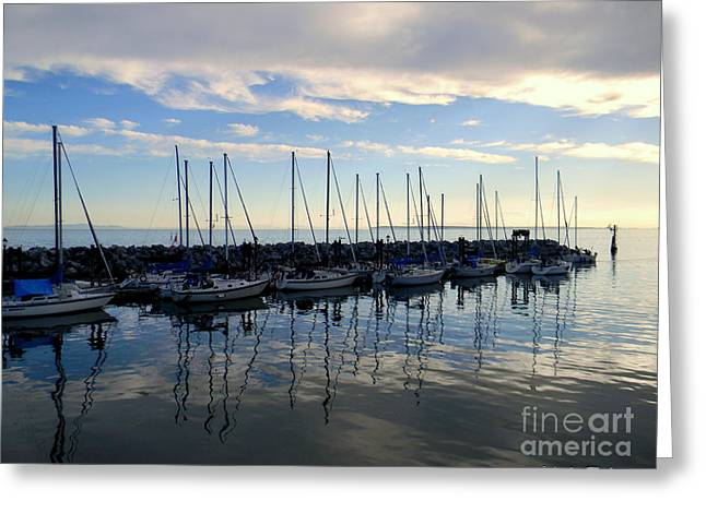 White Rock Pier 2017 Greeting Card