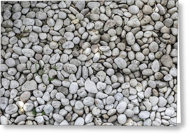 Greeting Card featuring the photograph White Rocks Field by Jingjits Photography