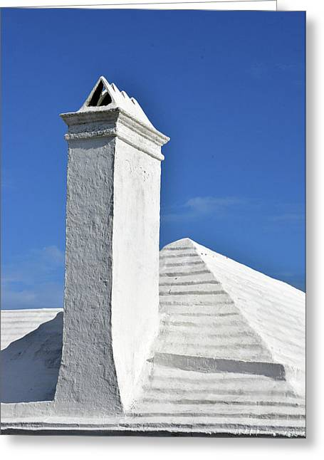 White Roof No. 6-1 Greeting Card