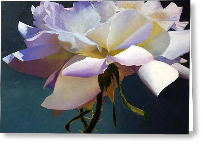 White Rose Of Eden Greeting Card