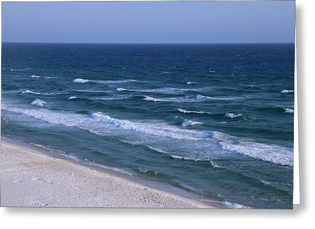 White Sand Blue Waters Greeting Card