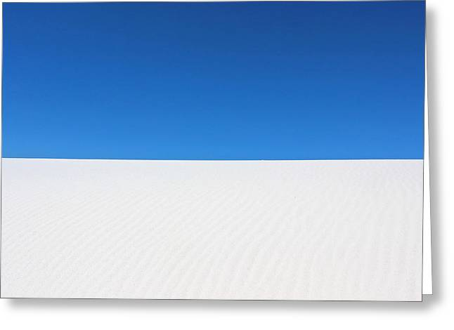 White Sands #8 Greeting Card