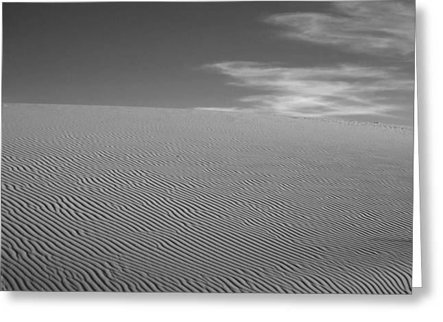 White Sands Dune Greeting Card by Peter Tellone