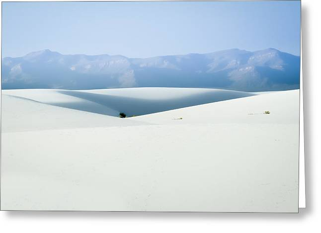 White Sands, New Mexico Greeting Card