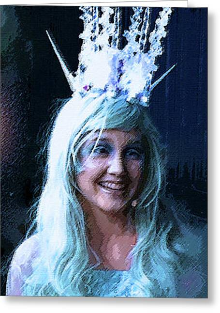 White Witch Greeting Card