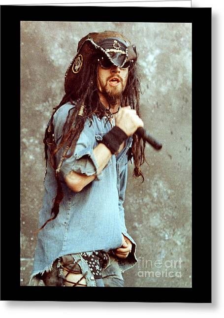 White Zombie 93-rob-0350 Greeting Card by Timothy Bischoff