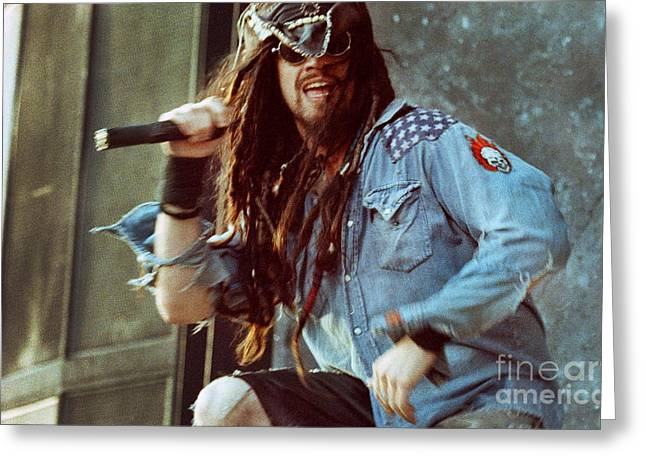 White Zombie 93-rob-0352 Greeting Card by Timothy Bischoff