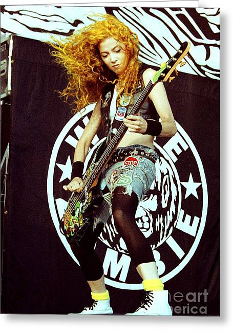 White Zombie 93-sean-0337 Greeting Card by Timothy Bischoff