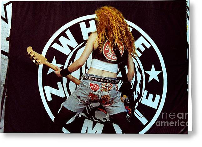 White Zombie 93-sean-0341 Greeting Card by Timothy Bischoff