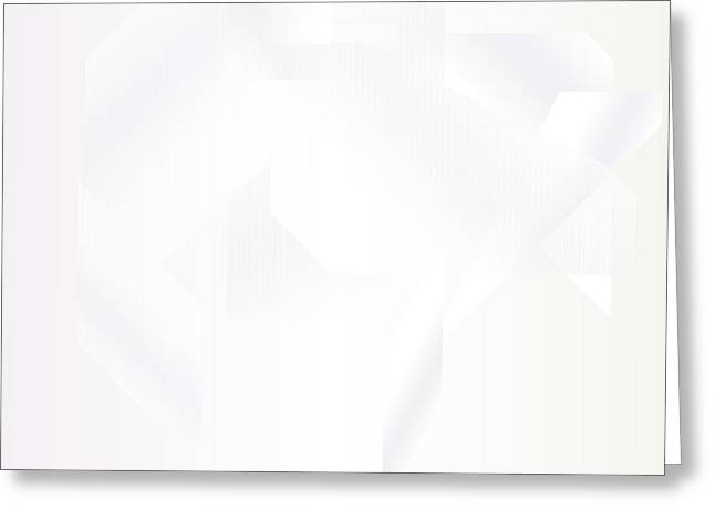 White.19 Greeting Card