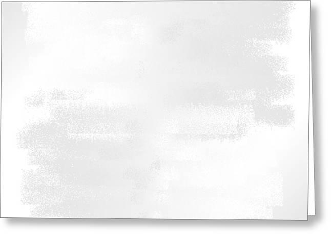 White.42 Greeting Card by Gareth Lewis
