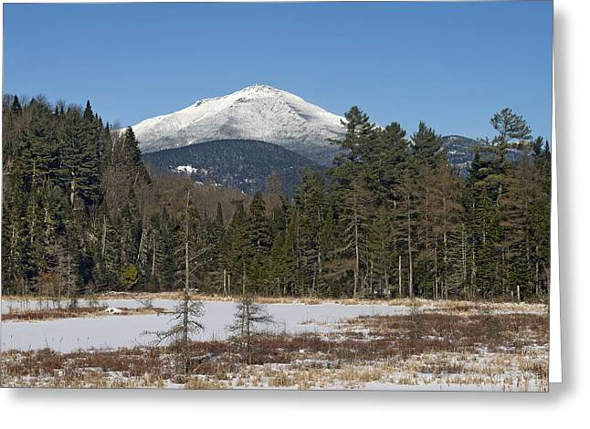 Whiteface Mountain In The Adirondacks Of Upstate New York Greeting Card by Brendan Reals