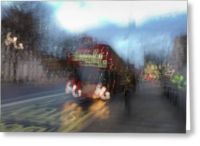 Greeting Card featuring the photograph Whitehall by Alex Lapidus