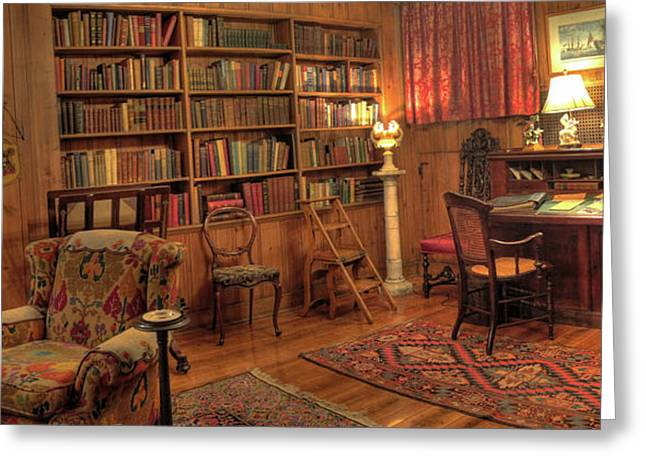 Whitehern Library Greeting Card by Larry Simanzik
