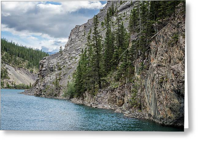 Whitemans Pond Canmore Alberta Greeting Card