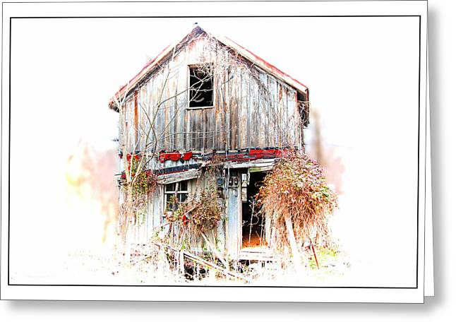 Whiteout In Opequon Greeting Card