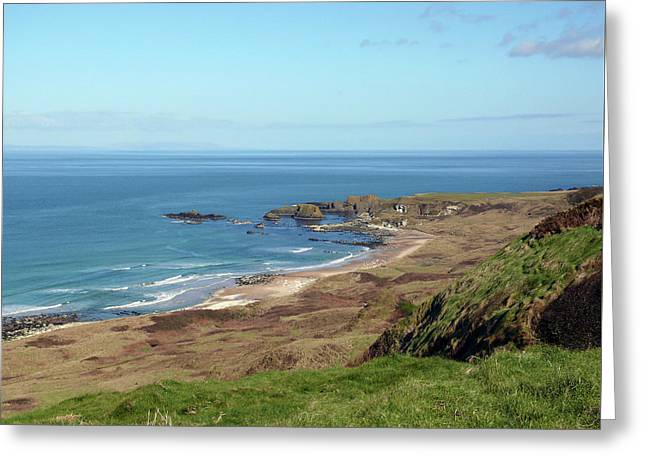 Greeting Card featuring the photograph Whitepark Bay by Colin Clarke