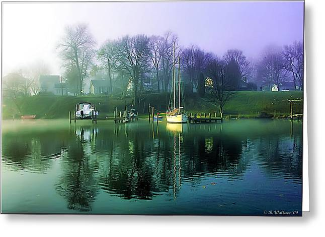 Greeting Card featuring the photograph White's Cove Awakening by Brian Wallace