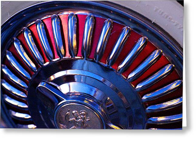Whitewall Roulette Greeting Card by Richard Henne