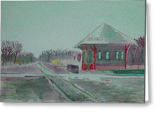 Whitewater Rail Station Greeting Card