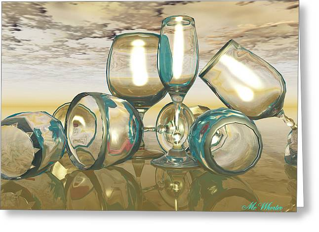 Chardonnay Greeting Card by Williem McWhorter