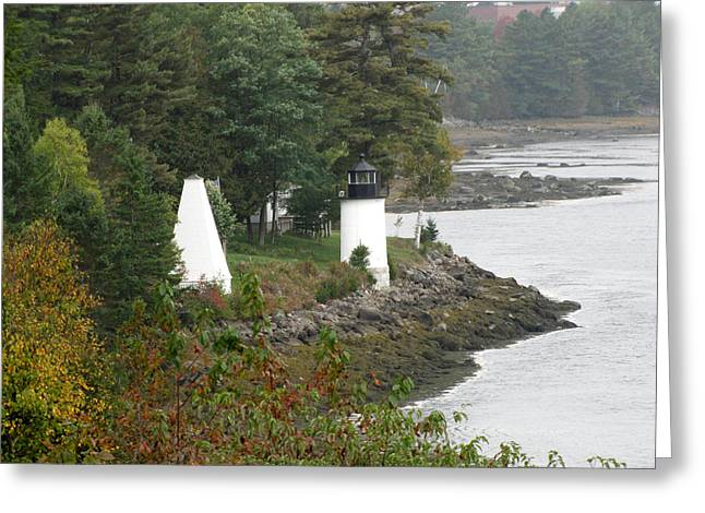 Whitlock Mill Lighthouse Greeting Card