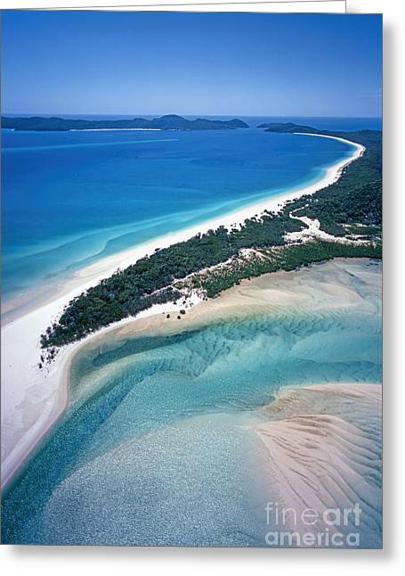 Greeting Card featuring the photograph Whitsunday Islands by Juergen Held