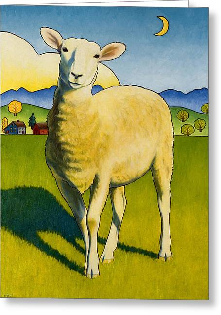 Who Are Ewe Greeting Card
