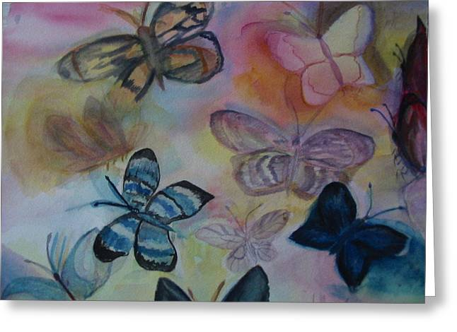 Who Is Prettiest Greeting Card by Marian Hebert