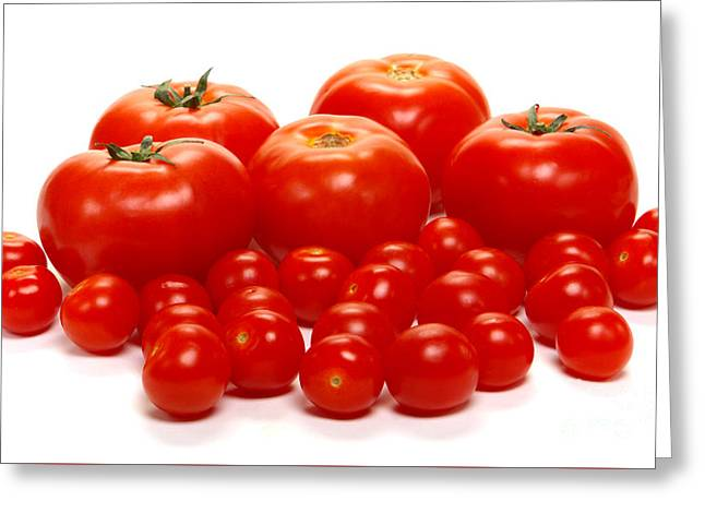 Whole Lotta Tomatoes Greeting Card