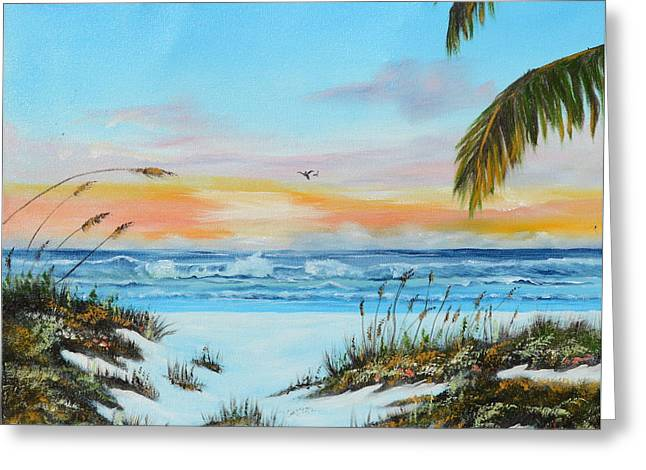 Why Not Siesta Key Greeting Card