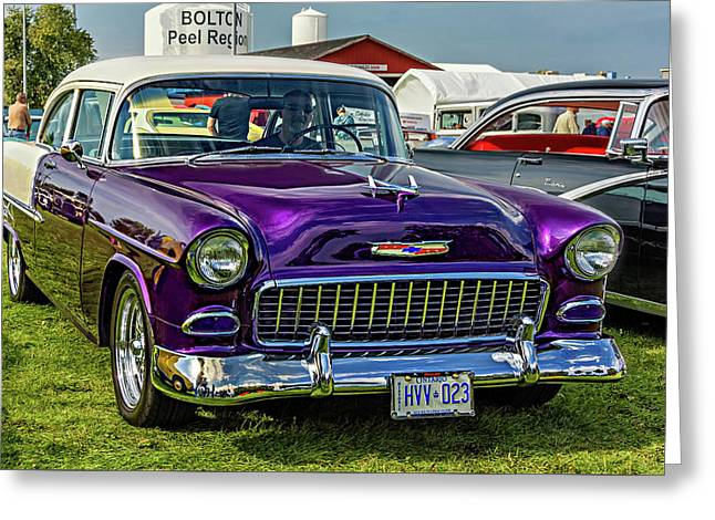 Wicked 1955 Chevy Greeting Card