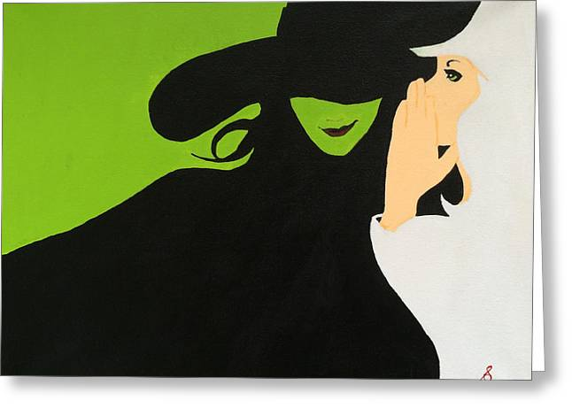 Wicked Greeting Card by Steve Kelly