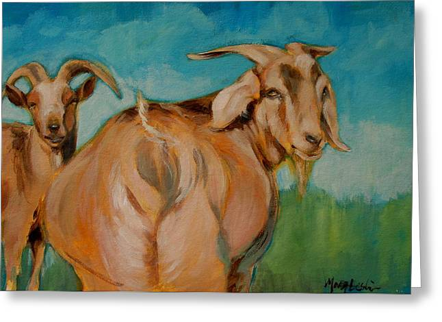Wide Load Greeting Card by Mary Leslie