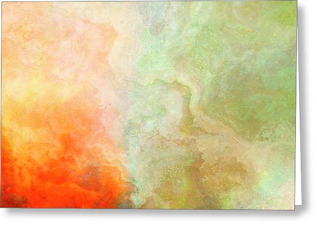 Wide Open - Abstract Art Greeting Card