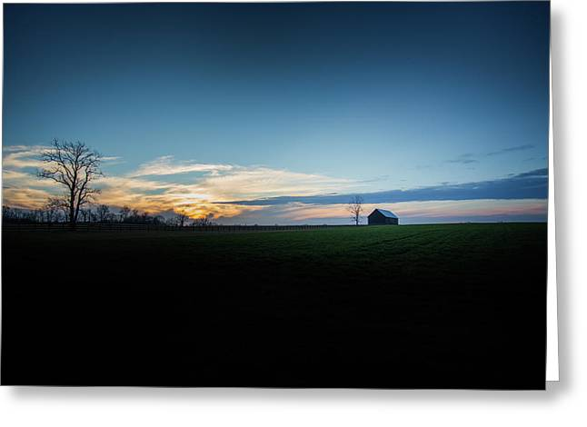 Greeting Card featuring the photograph Wide Open Spaces by Shane Holsclaw