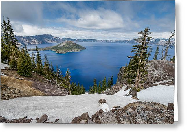 Wide View From Discovery Point Greeting Card