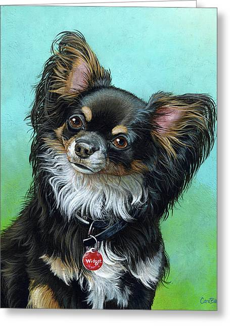 Widget The Chihuahua Greeting Card