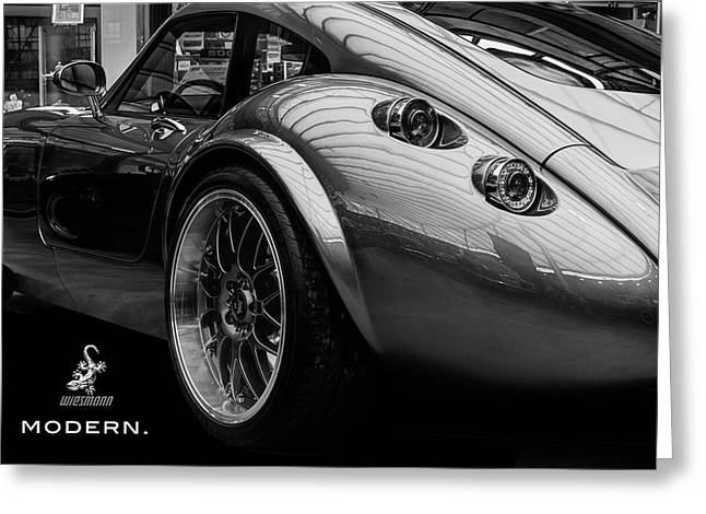 Wiesmann Mf4 Sports Car Greeting Card