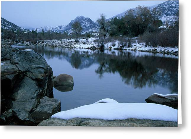 Wild And Scenic Kern River Greeting Card by Soli Deo Gloria Wilderness And Wildlife Photography