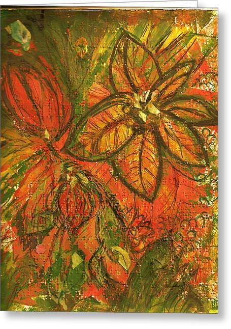 Wild And Wonderful With No Fear Greeting Card by Anne-Elizabeth Whiteway