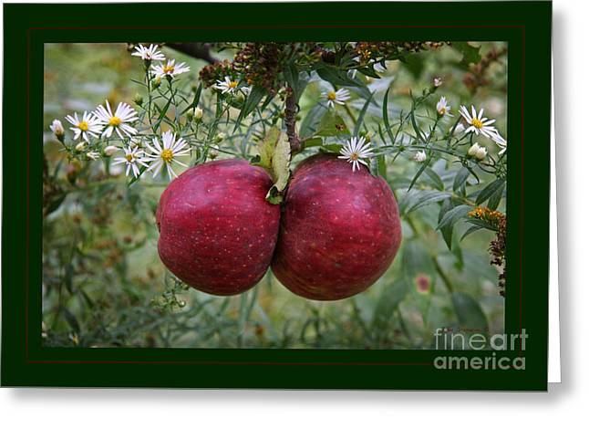 Wild Apples Greeting Card