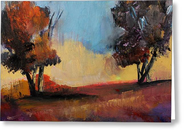 Wild Beautiful Places Trees Landscape Greeting Card