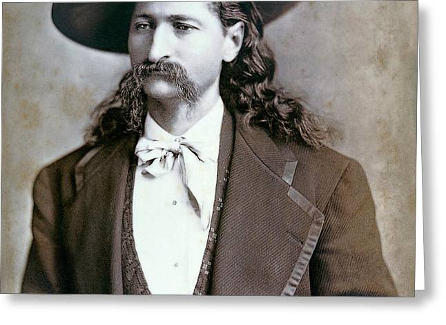 Wild Bill Hickok  1873 Greeting Card by Daniel Hagerman