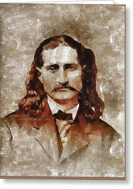 Wild Bill Hickok Greeting Card