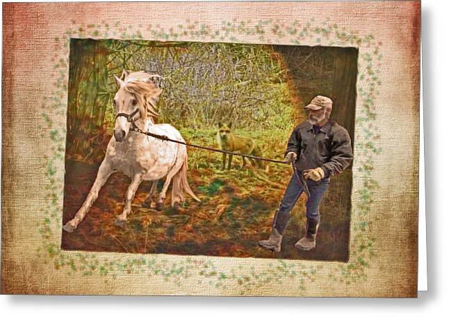 Wild By Nature Greeting Card by Patricia Keller