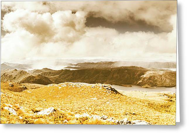 Wild Country Lookout Greeting Card