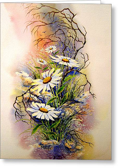 Wild Daisies Greeting Card by Brooke Lyman