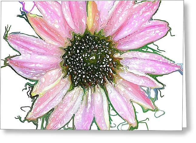 Greeting Card featuring the photograph Wild Flower Four by Heidi Smith