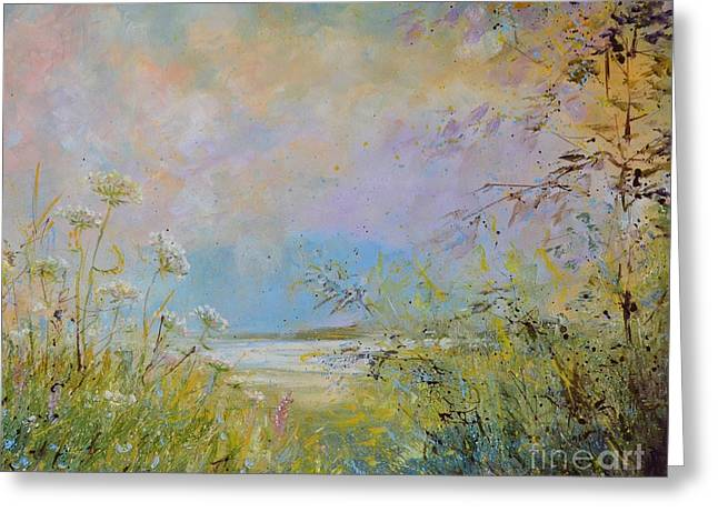 Wild Grasses Of Saugatuck Greeting Card